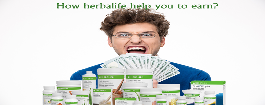 How Herbalife help you to earn?