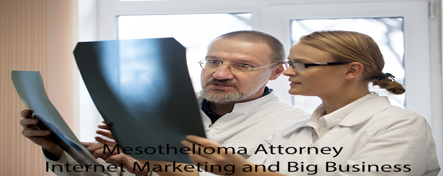 Mesothelioma Attorney Internet Marketing and Big Business